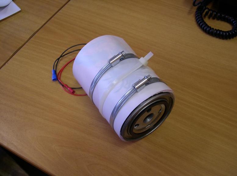 обогреватель для топливного фильтра