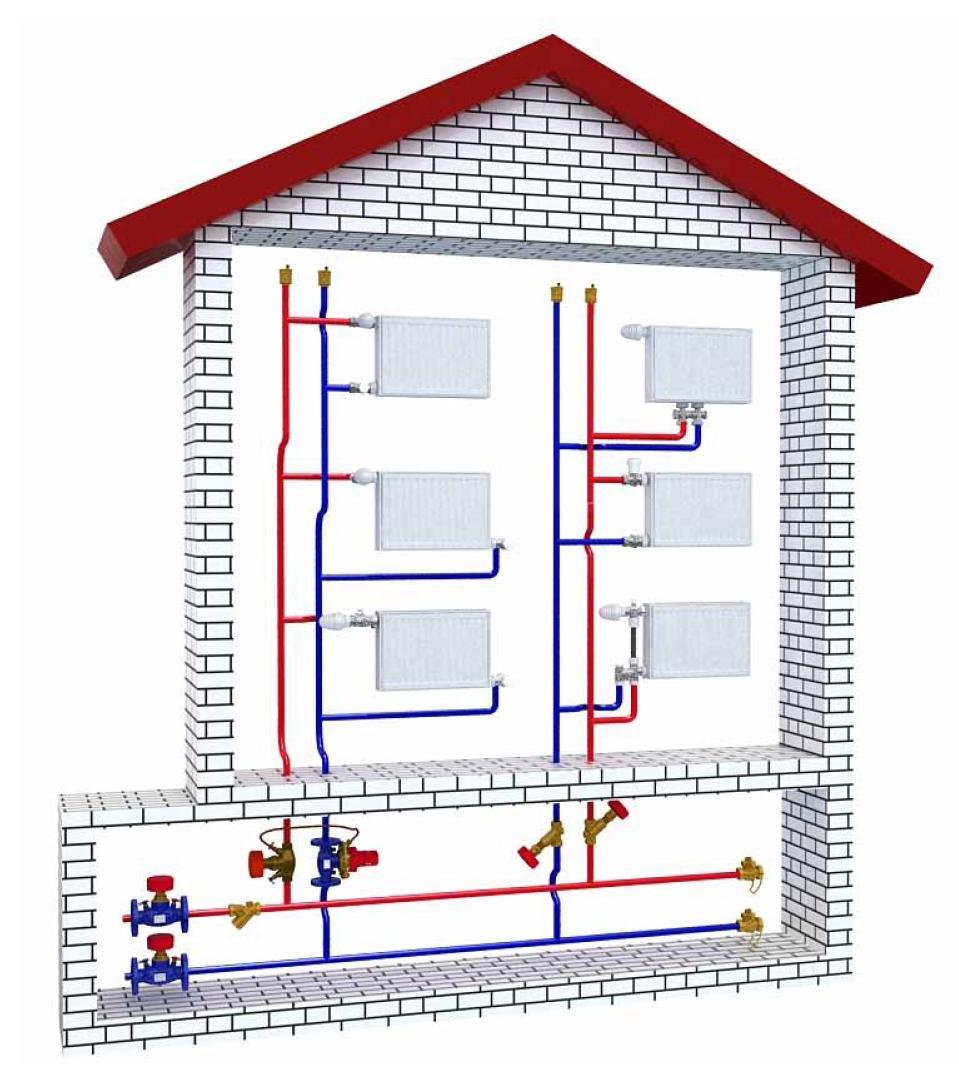 электробойлеры схема обогрев дома