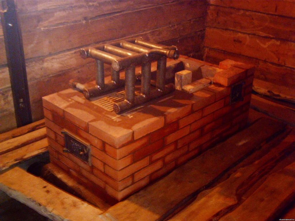 Печь с теплообменником для отопления своими руками