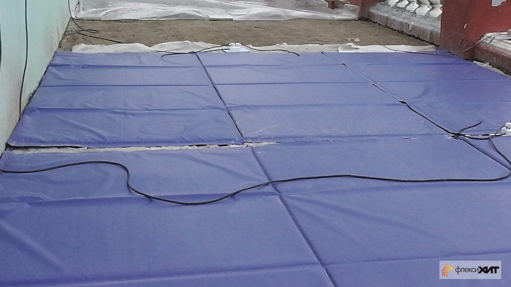 термоматы ФлексиХИТ для бетона с саморегулирующим эффектом