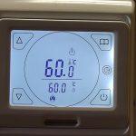 нагреватель набрал установленную температуру