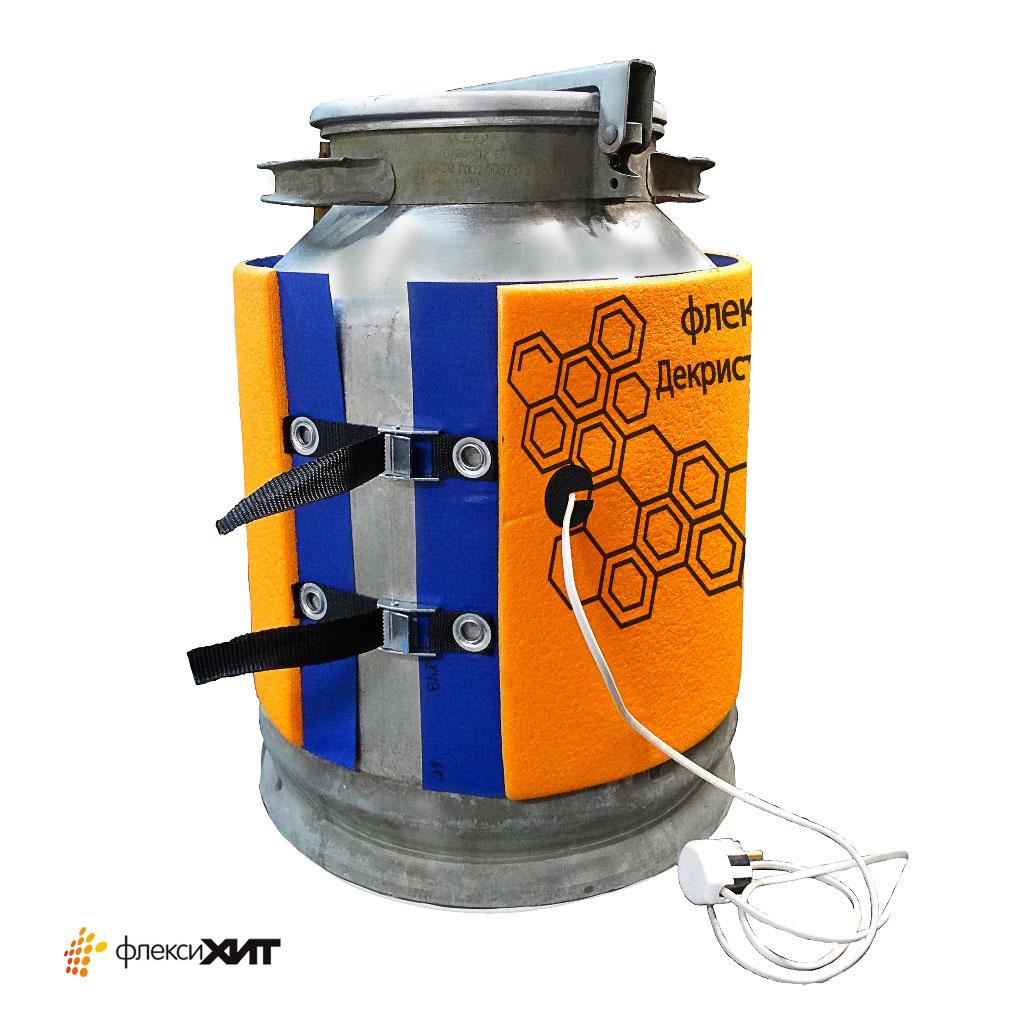 декриталлизатор Терморубашка для разогрева сырья в емкостях фляга