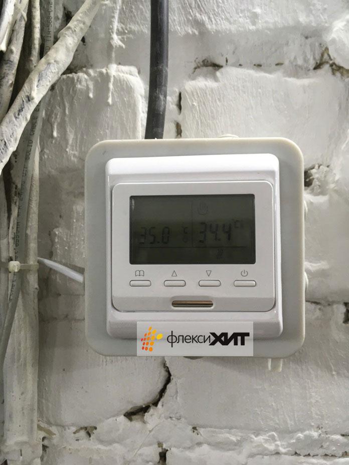 Терморегулятор для промышленных обогревателей