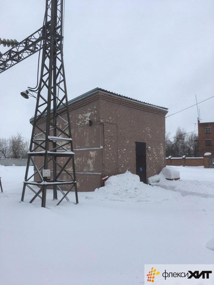 Обогреватели на подстанции в Новосибирске