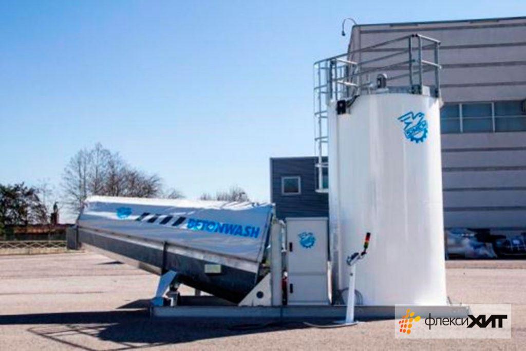 Рециклинг бетонных отходов фирмы SIMEM