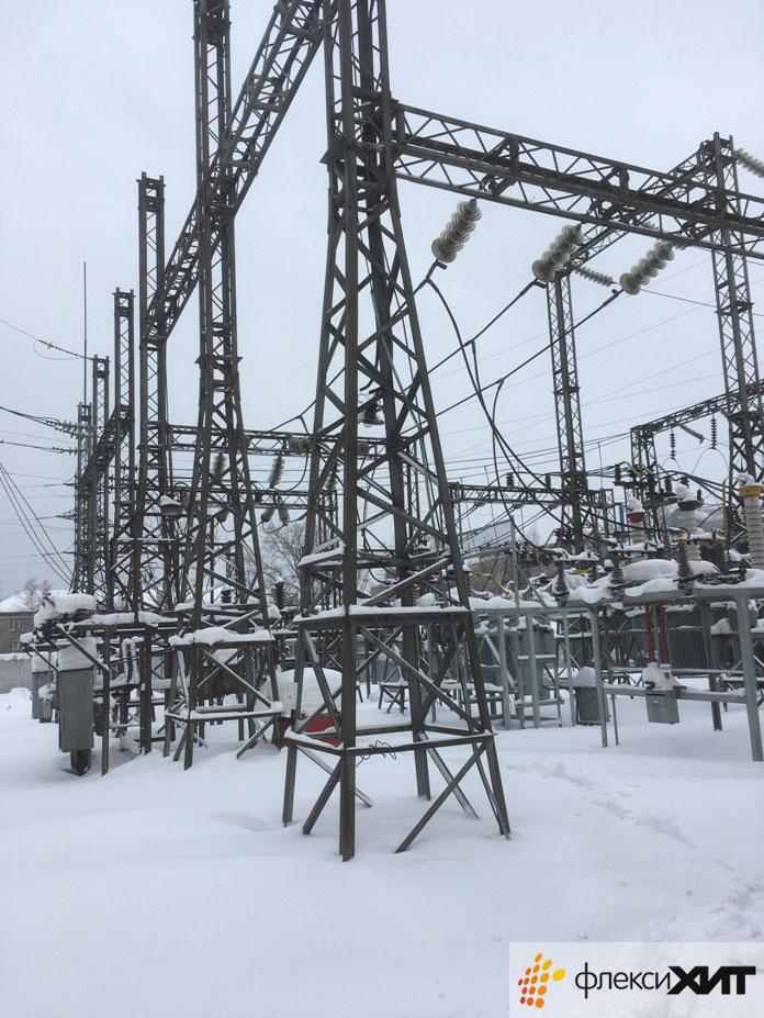 Подстанция в Новосибирске