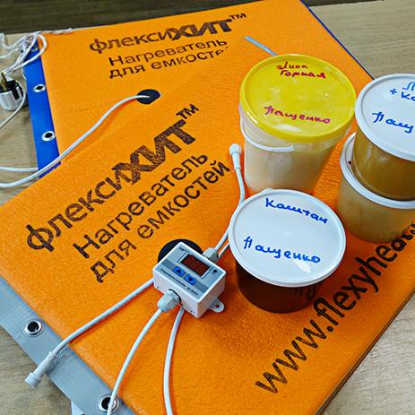 Мёд с кочевой пасеки Пащенко + декристаллизатор с терморегулятором