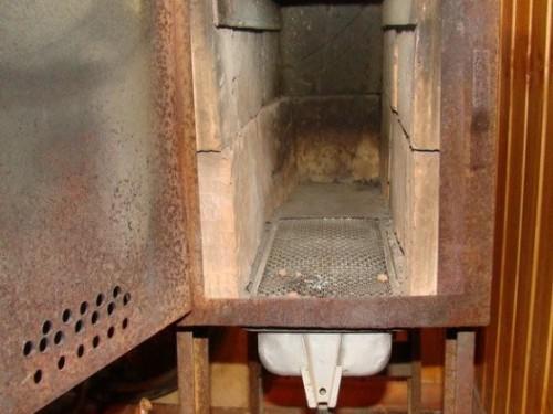 Самодельная печь на дровах или угле  06.03.2014