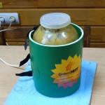 Начало разогрева мёда