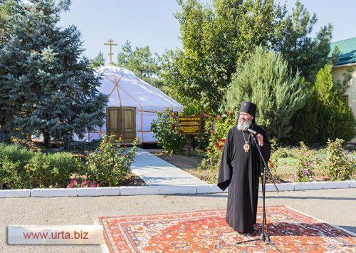 кибитка-музей в Элисте «Походно-улусная церковь святителя Николая Чудотворца»