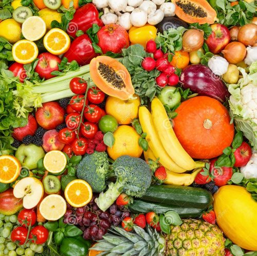 фрукты-и-овощи-собирают-еду-фоновые-яблоки-апельсины-томаты-свежие-158348927